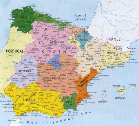 Regional Anthems of Spain