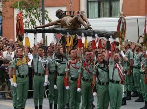 El coro de la Legión Española