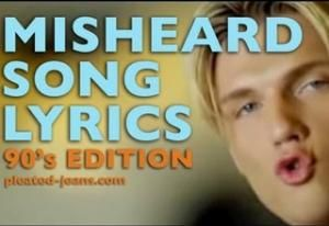 Misheard Lyrics lyrics