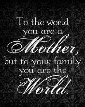 To All Mothers / A Toutes Les Mamans / Para Todas Las Madres