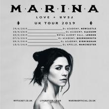 Marina and the Diamonds   Love + Fear Tour (2019)