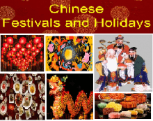 Songs about Chinese Festivals and Holidays