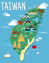 Songs about the places of Taiwan (Mandarin)