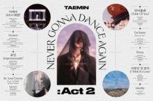 TAEMIN – Never Gonna Dance Again : Act 2