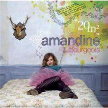 Amandine Bourgeois 🇫🇷 – 01 – « 20 m² » (Album Tracklist)